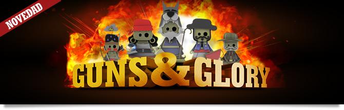 Llega a Winamax Guns&Glory, ¡una multitud de desafíos que romperán tus esquemas!